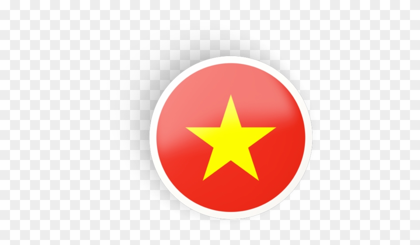 Illustration Of Flag Of Vietnam Vietnam Flag Round Free Transparent Png Clipart Images Download