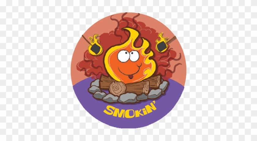 The Stink Factory Dr Stinky S Scratch N Sniff Stickers - Scratch-n-sniff Stickers- Campfire #602491