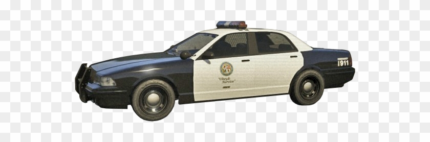 Transparent Gta 5 Police Car - Police Car Transparent Background #602995