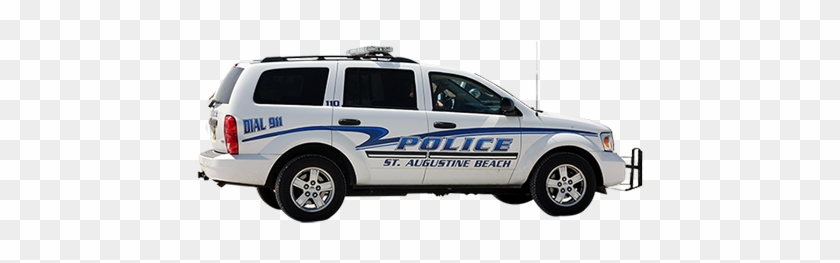 A Cutout Photo Of A Florida Police Car Taken From A - Police Car Png #602997