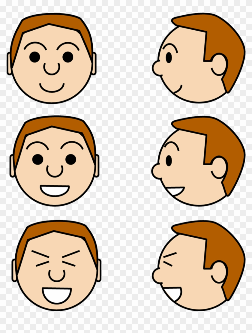 Images For Face Expressions Clipart - Facial Expression #603099