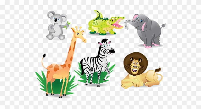 Kid Pictures Of Animals Coloring Photos Pretty Pics - Cartoon Jungle Animals #603362