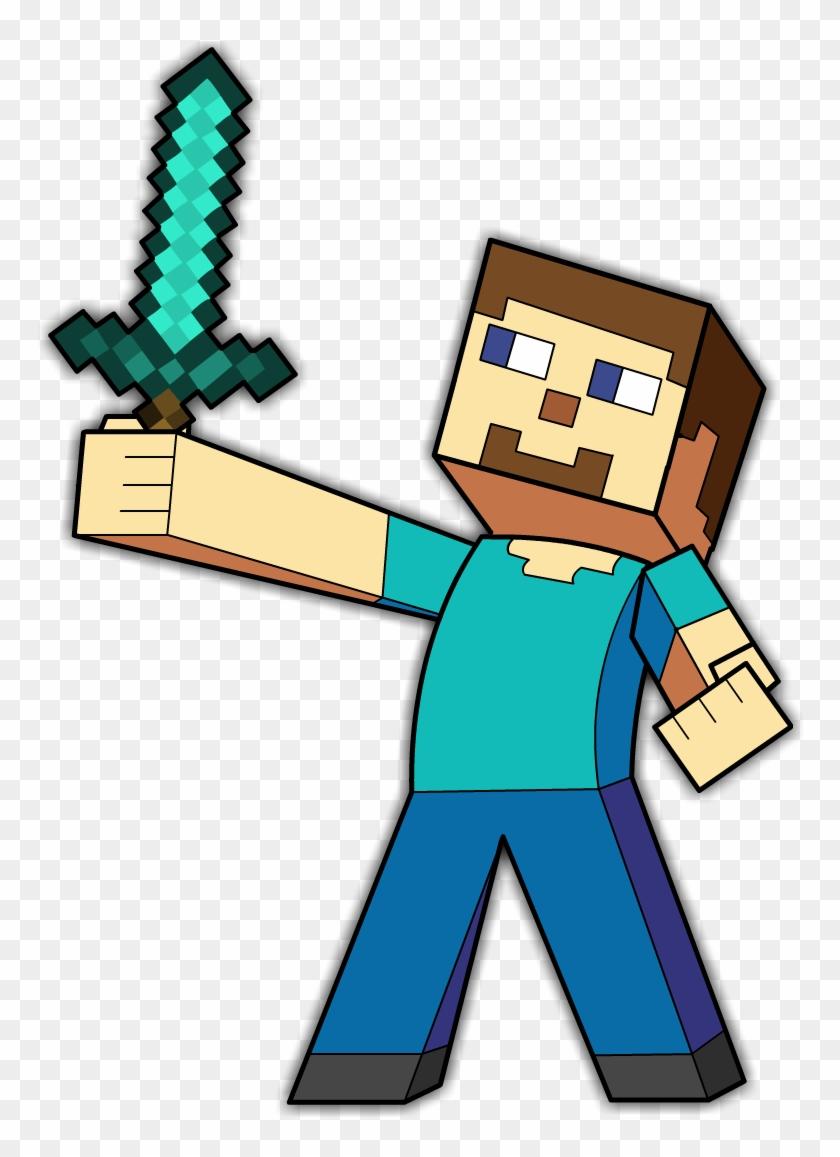 Minecraft Steve Minecraft Logo Steve Png Free Transparent Png