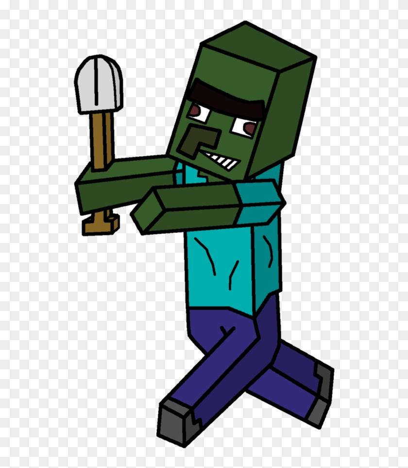 Villager Zombie By Mrbleistift Minecraft Cartoon Zombie Villager