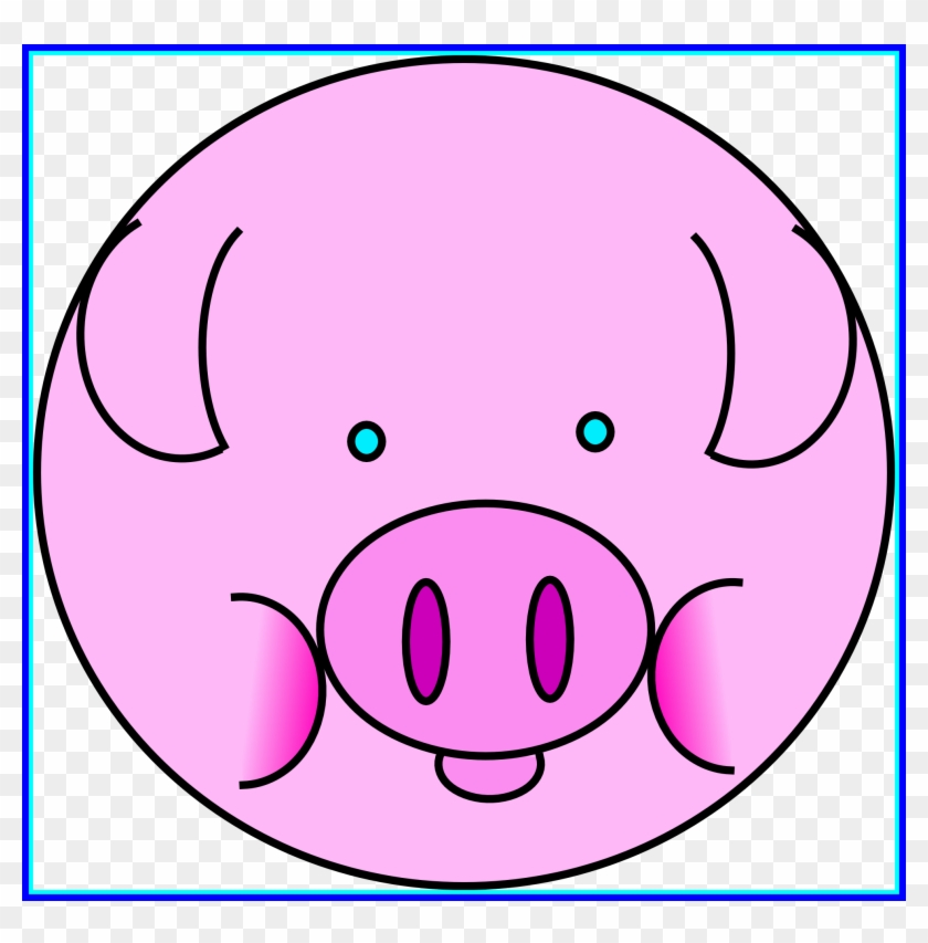 Marvelous Clip Art Zz Pig Clipart Panda For Cute Head - Pig Icon #603984