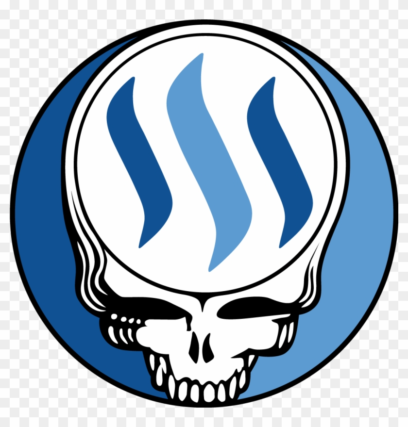 The Best-known Grateful Dead Art Icon Is A Red, White, - Grateful Dead Steal Your Face #605424