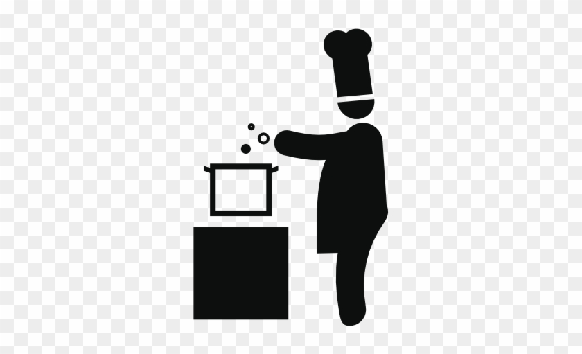 Cooking Chef Icons - Chef Cooking Icon #605728