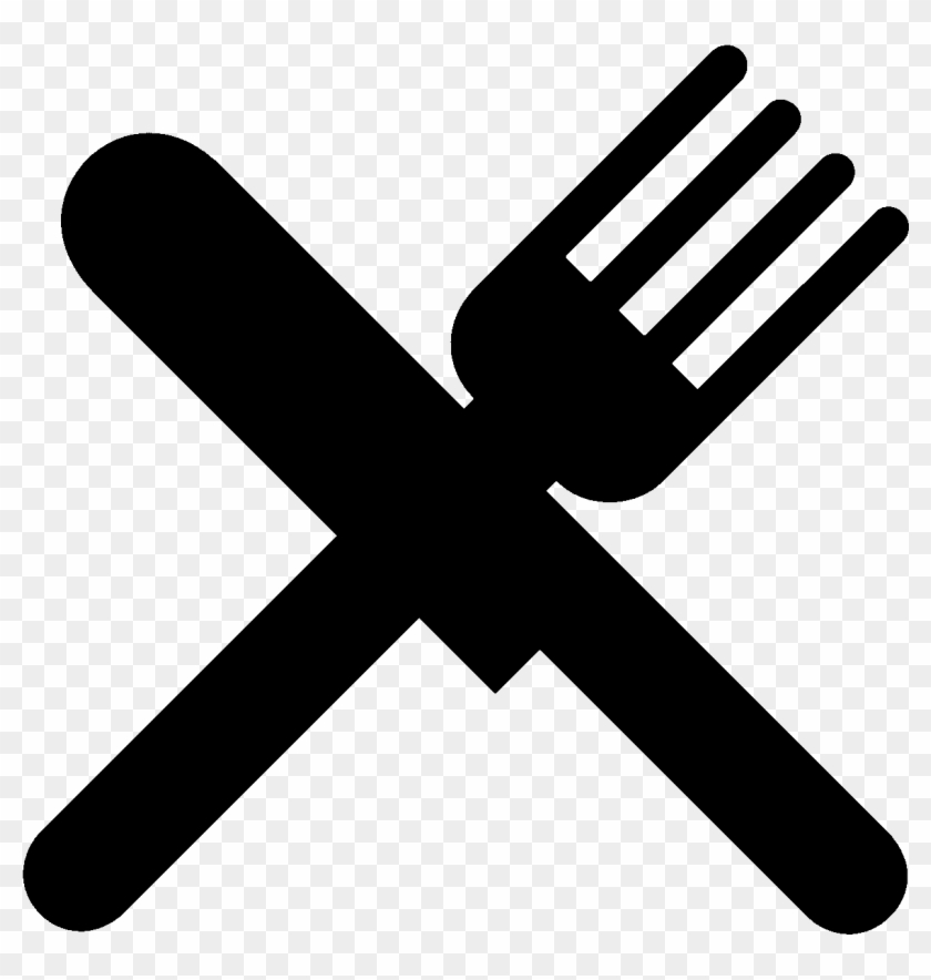 Fork Clipart Chef Knife - Fork And Knife Icon Png #605730