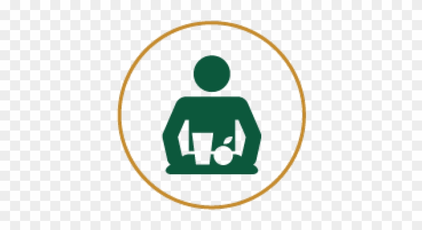Icon Of A Person With A Meal In Hand - Tips To Take Care Of Your Heart #605838