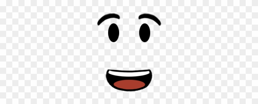 Happy Face Texture Roblox Face Free Transparent Png Clipart