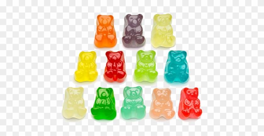 12 Flavor Gummi Bear Cubs - Albanese Gummy Bear Flavors #606169