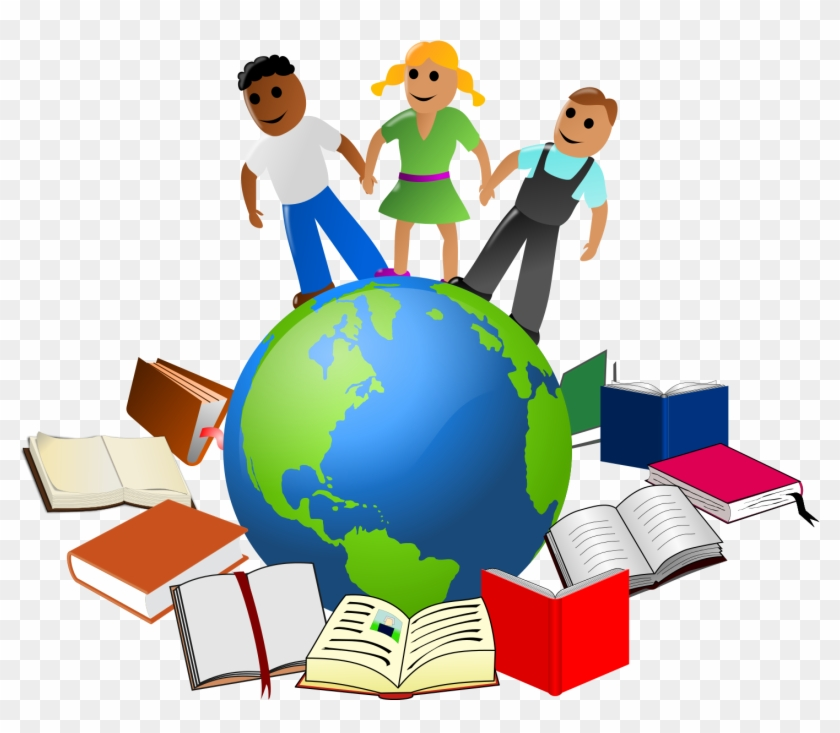 Global Educators Are Struggling To Push The Boundaries - Education Clipart #606216