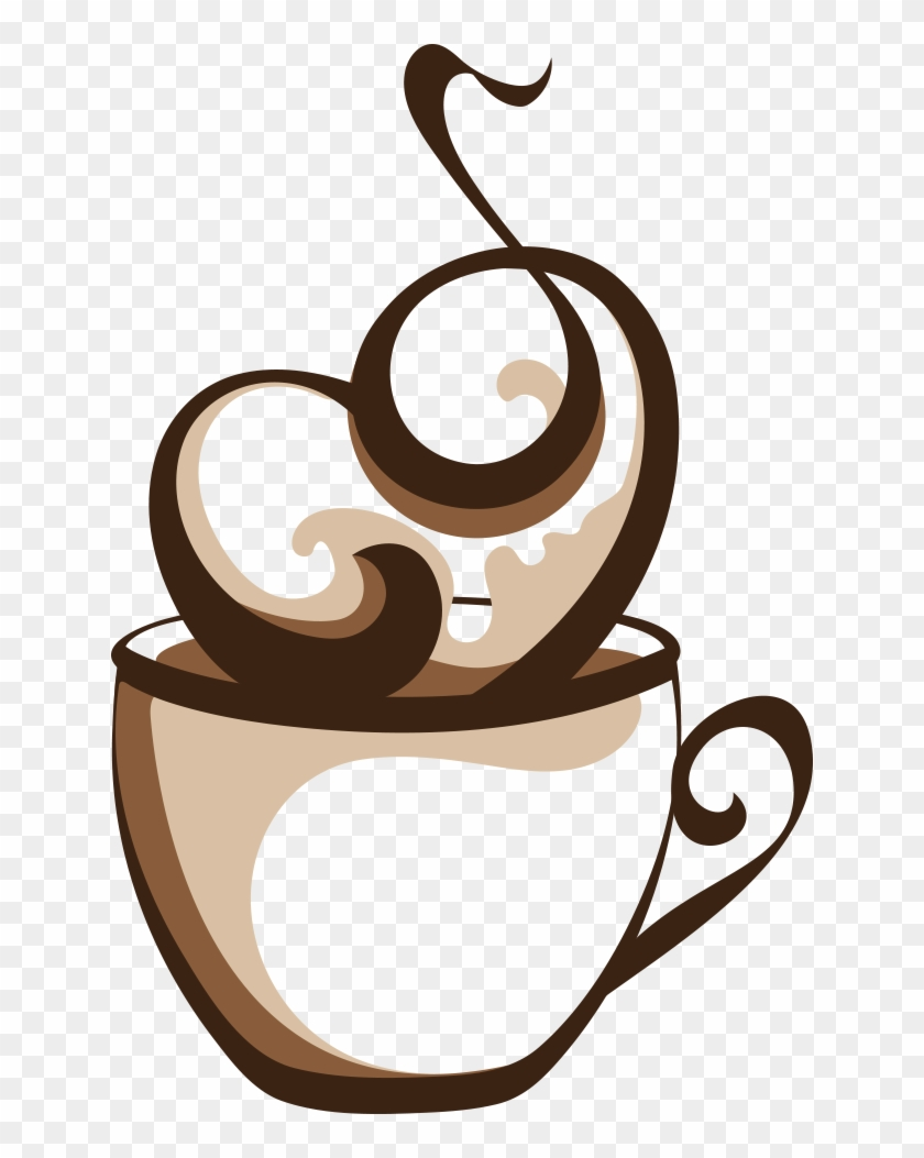 Coffee Cup Cafe Coffee Cup - Hot Coffee Cup Vector #606875