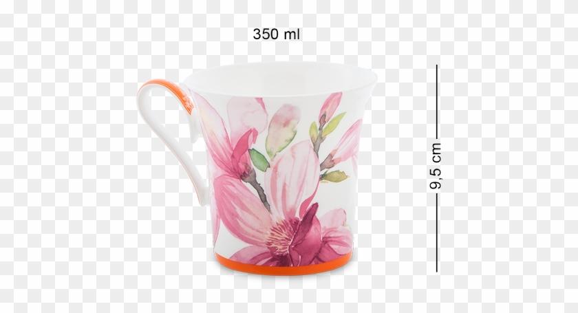 Чайные Кружки Из Костяного Фарфора - Кружка Магнолия Pavone #606908