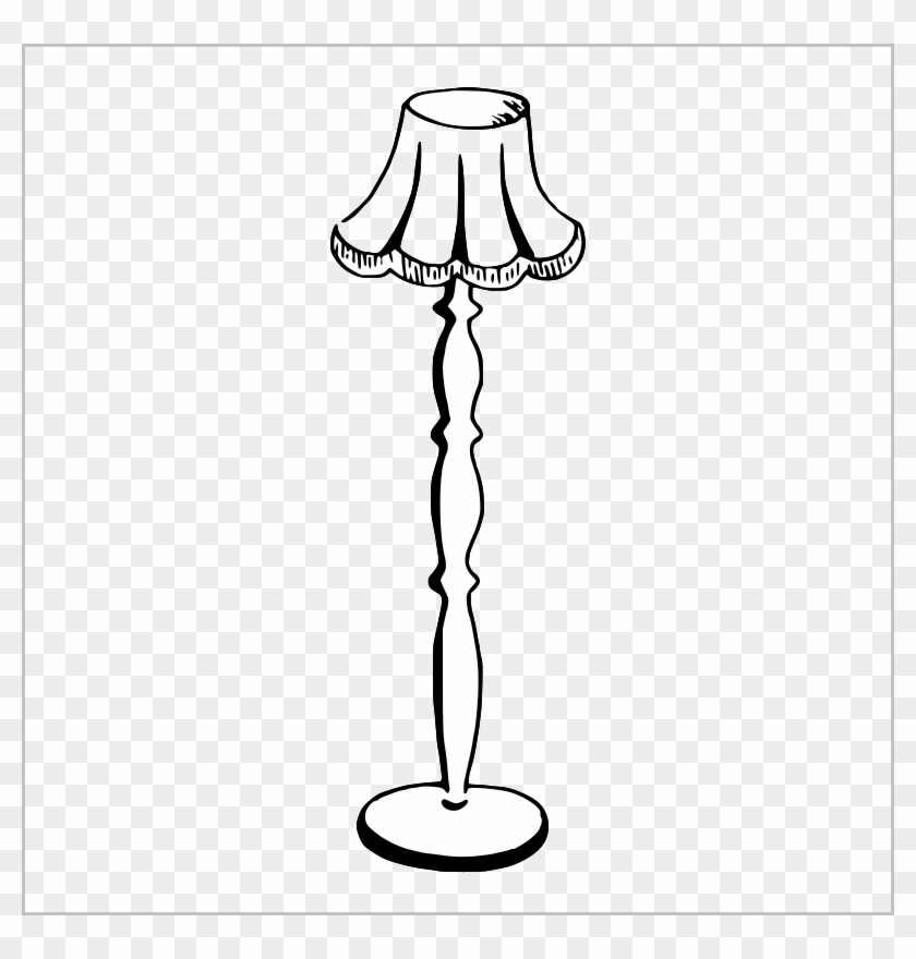 Table Lamp Clipart Black And White Lovely Free Clipart Floor