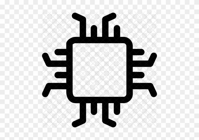 Processor Chip Icon - Next Thing Co Chip Projects - Free