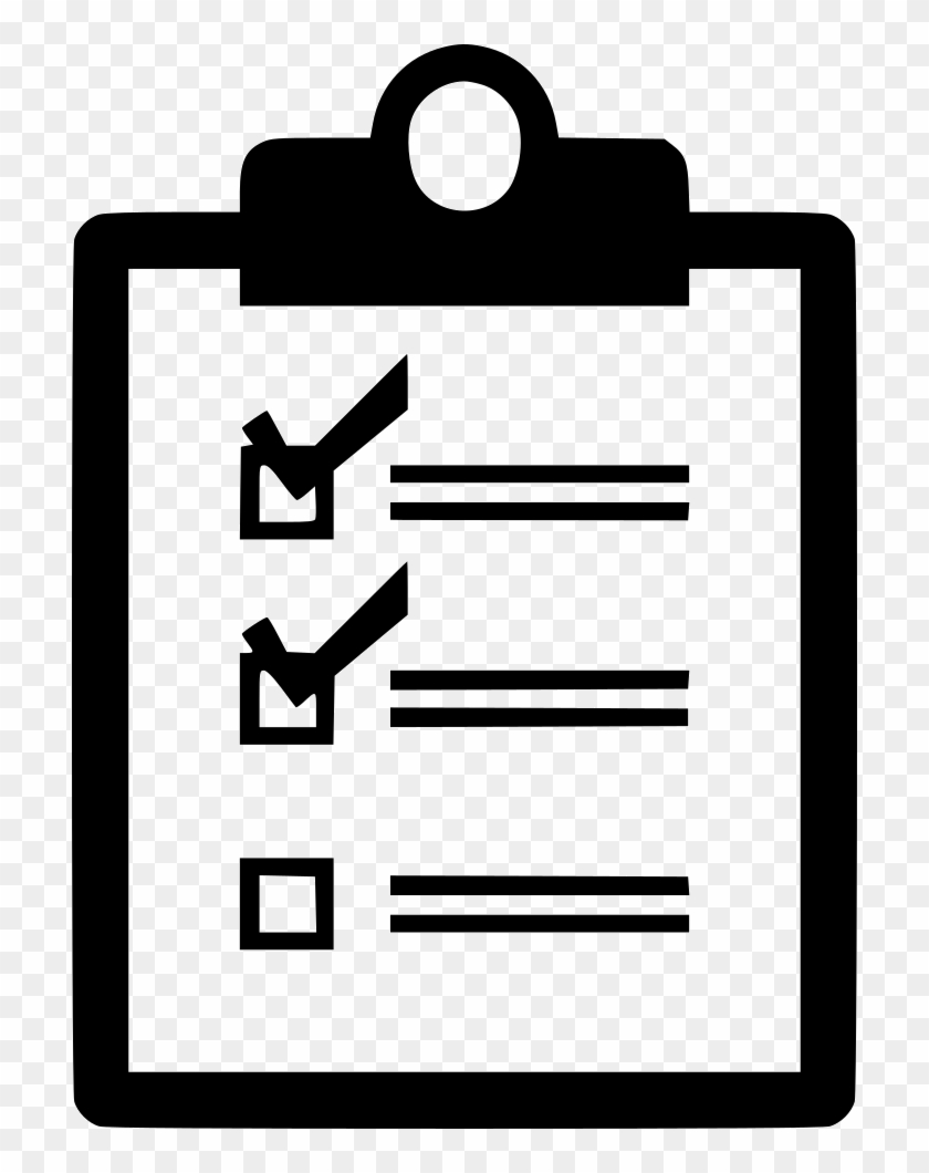 checklist todo comments - checklist icon free - free transparent png