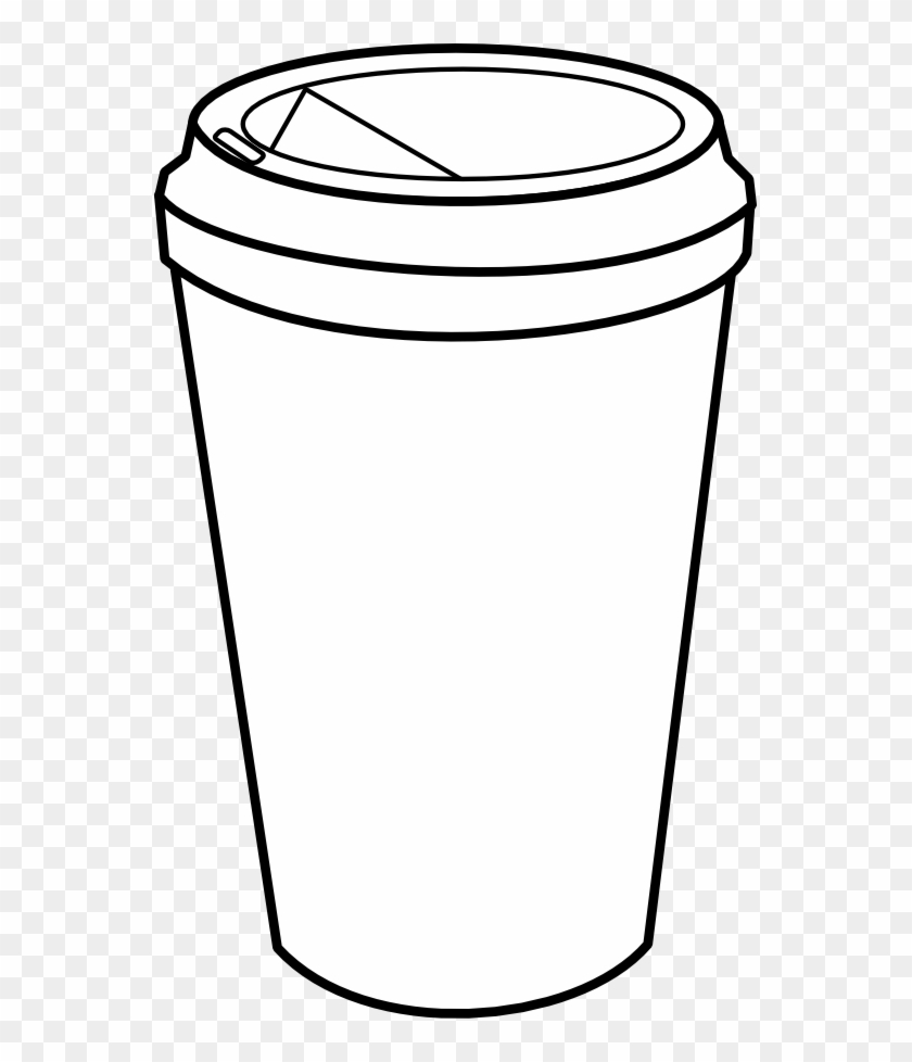 Coffee Cup Hi Starbucks K Cups Recycle Tumbler Cup - Coffee Cup Coloring Page #608213