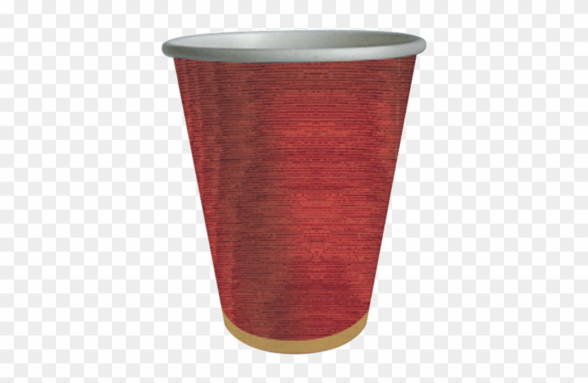 Red Moiré Paper Cups - Ceramic - Free Transparent PNG