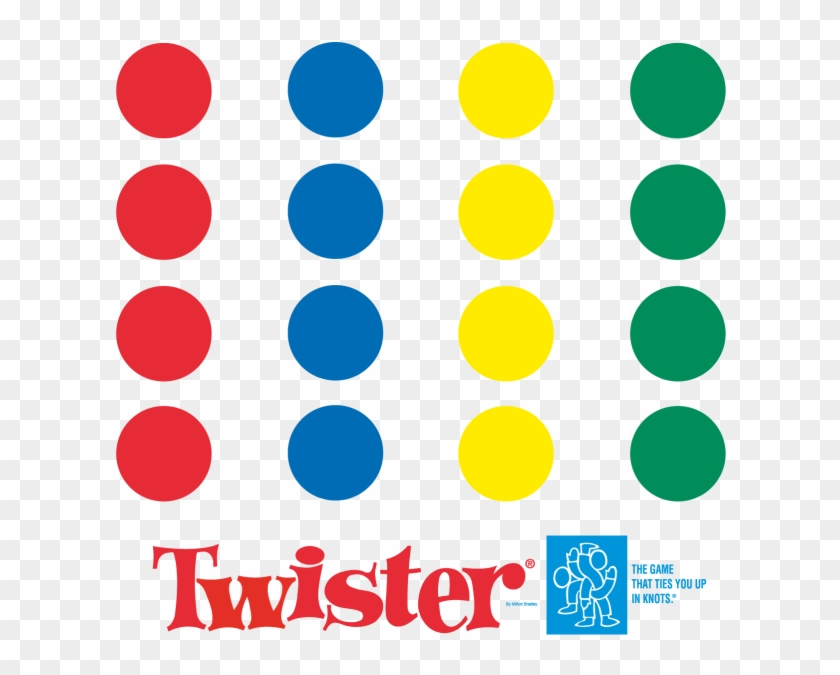 Twister 01 Journals Game Twister 6x8 Hard Cover 200pgs