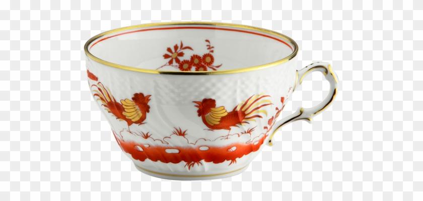 Galli Rossi Tea Cup Cc 240 Oz - Set Xícara Chá Galli Rossi - Free