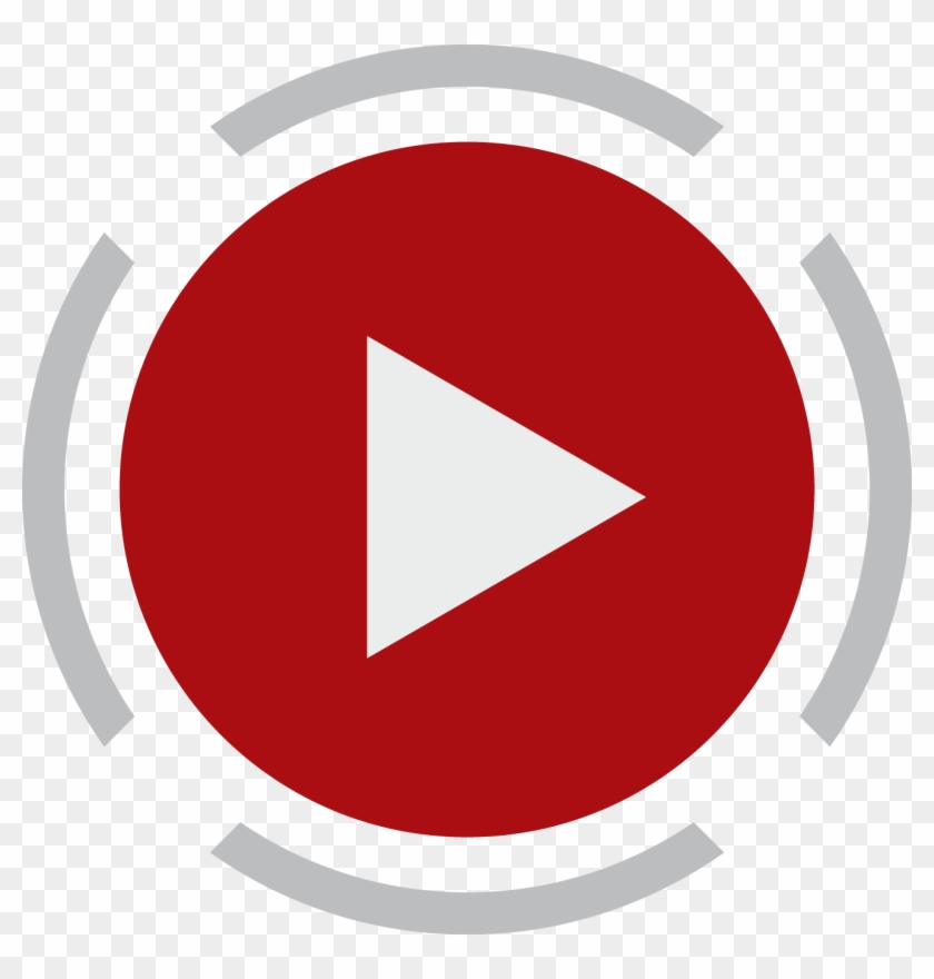 Free Youtube Subscribe Button Transparent - Play Button Png Hd