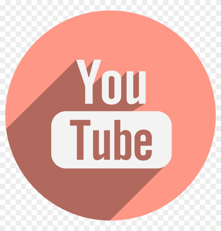 Youtube Transparent Png - Youtube Flat Icon Circle #610831