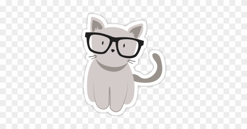 Hipster Cat Cat Drawing Tumblr Png Free Transparent Png Clipart