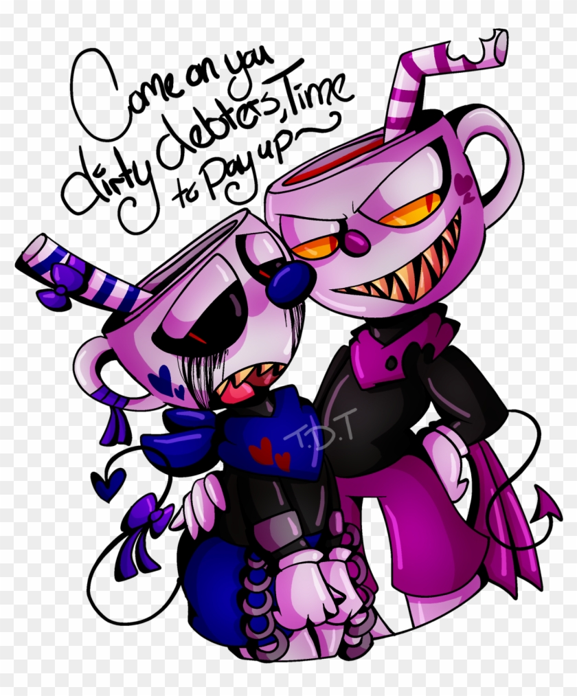 Evil Cuphead Cuphead Dont Deal With The Devil Evil - Evil Cuphead Fanart #611794