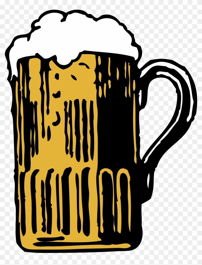Beer Clipart Beer Mug - Mug Of Beer Vector #611996