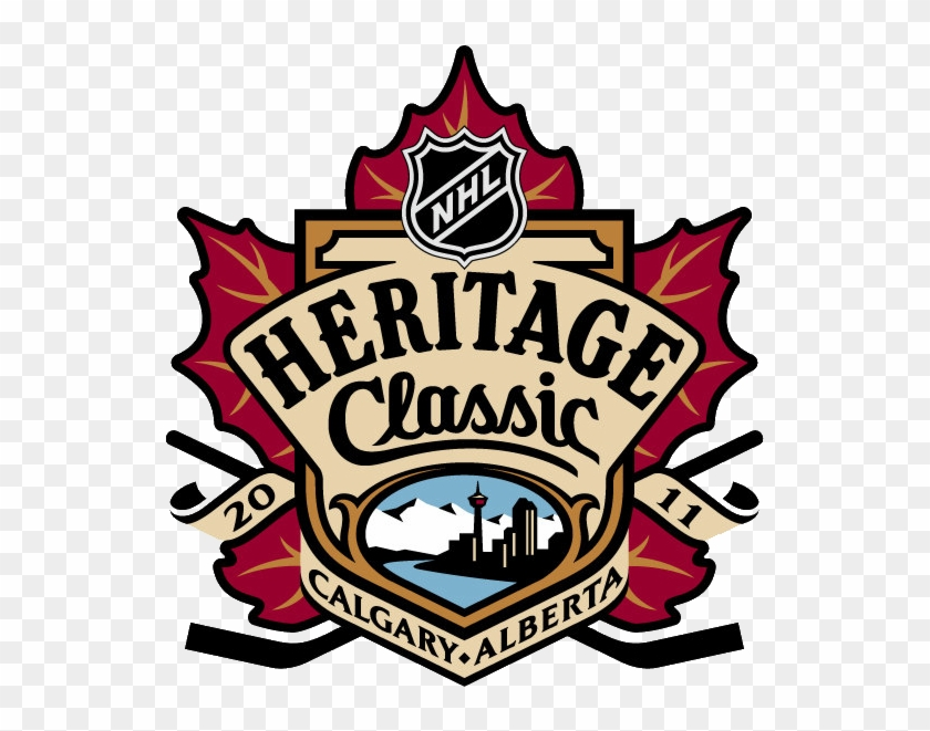 Flames, Canadiens Will Stage Alumni Game For '86 Cup - Heritage Classic Hockey Logo #612692