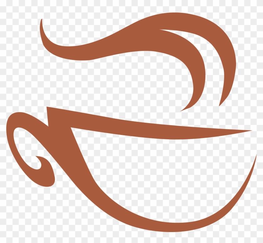 Coffee Cafe Mug Logo - Aroma A Cafe Animado #612932