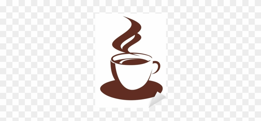 Doodle Sketch Of Steaming Coffee Cup Sticker • Pixers® - Cup Of Coffee #612960