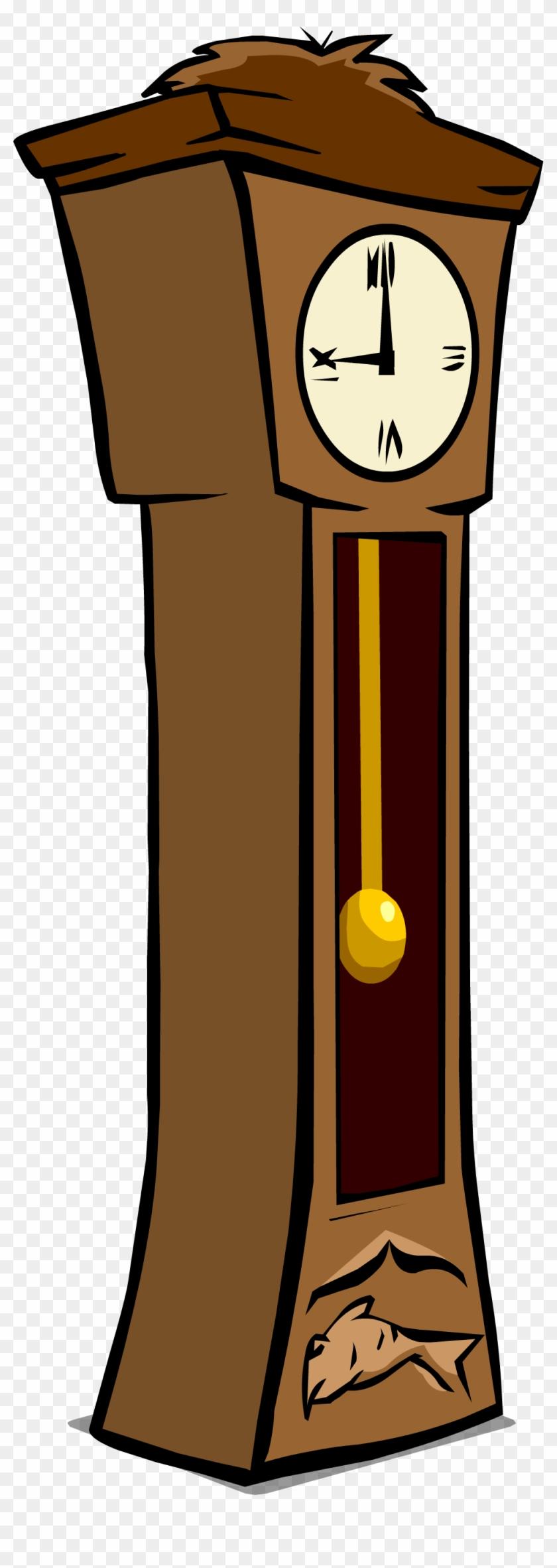 Grandfather Clock Sprite 003 - Clip Art Grandfather Clock #612977