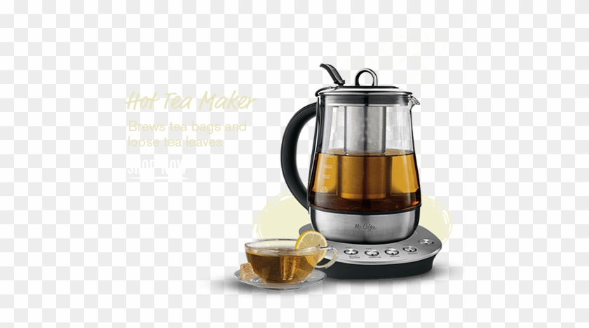 Most Popular Items - Mr. Coffee Bvmc-htk100 Tea Maker/kettle - 1.3 Qt - #613459