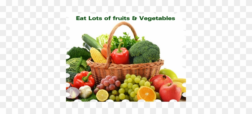 Nutrients And Health Benefits Choose Myplate - Eat Lots Of Fruits And Vegetables #613495