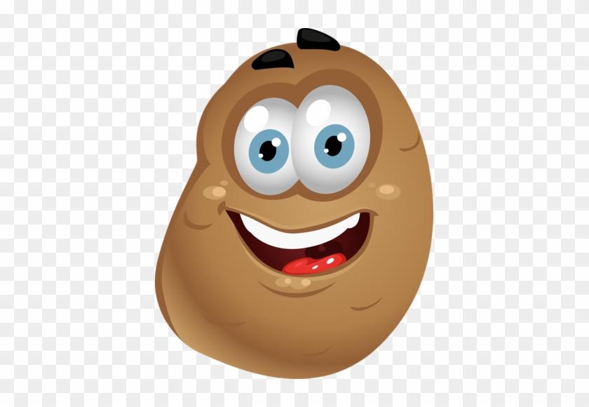 Pomme De Terre Potato Clipart With Face Free Transparent Png Clipart Images Download