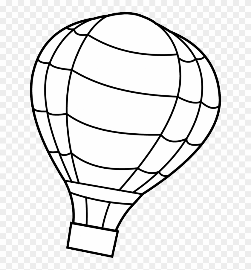 Hot Air Balloon Pictures To Color C0lor 212263 Hot Hot Air Balloon Coloring Page Free Transparent Png Clipart Images Download