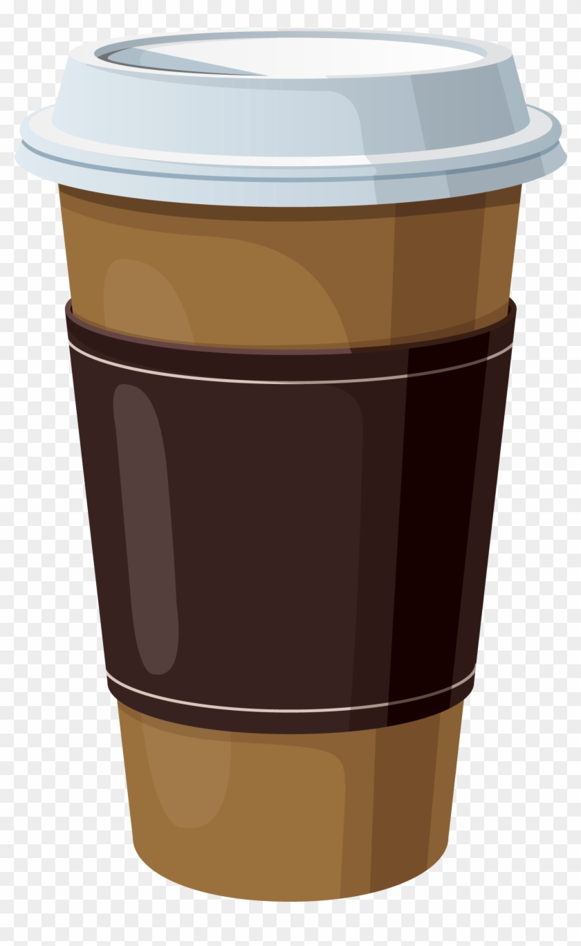 Coffee Bean Graphic Clip Art Library - Paper Coffee Cup Clip Art #614332