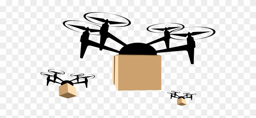 Across The Supply Chain - Delivery Drone Icon #614524