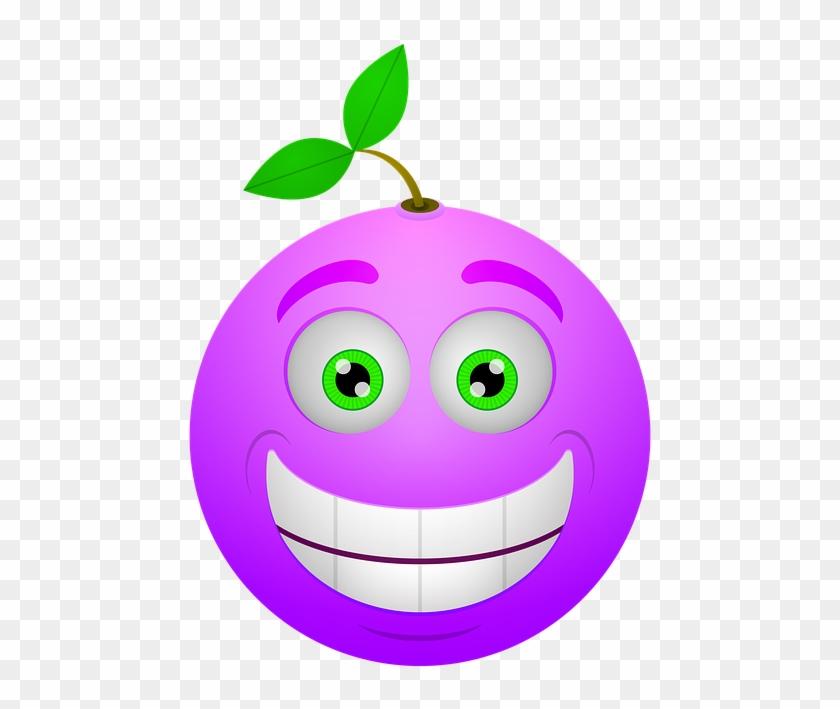 Smiley, Berry, Happy, Smile, Icon - Sad Berry #614637