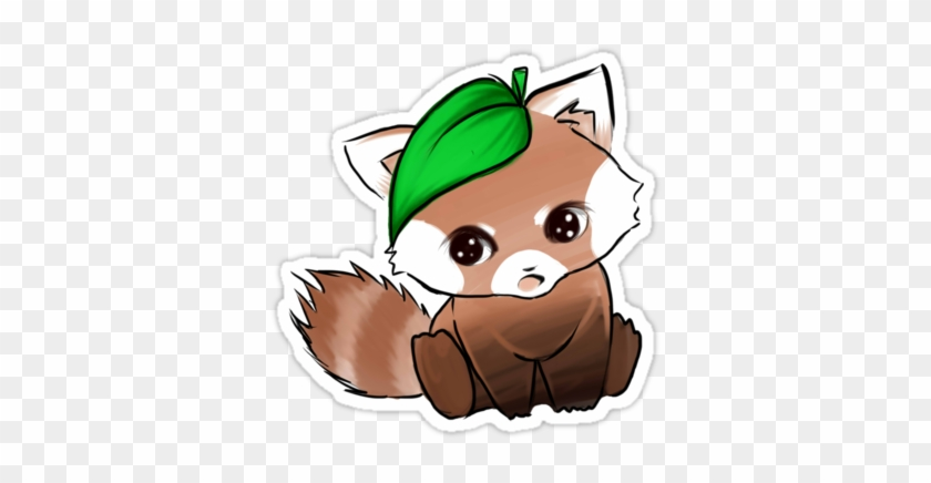 Clipart Info - Cute Red Panda Unisex Tank Top #614706