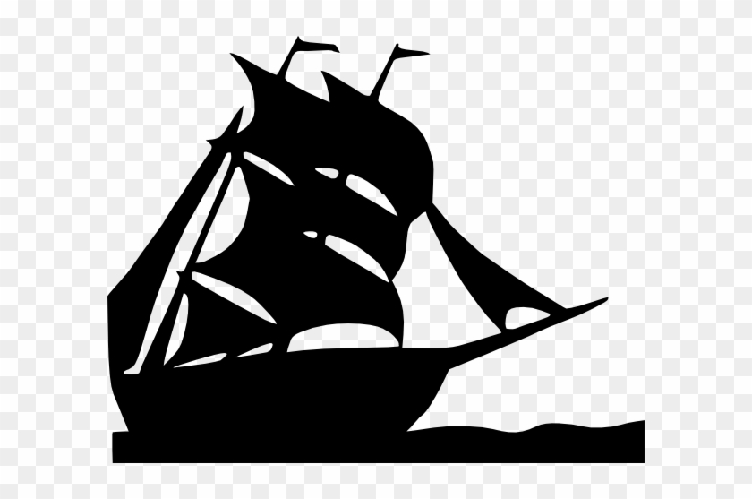 Sailing Boat Silhouette Clip Art At Clipart Library - Silhouette Of A Boat #614807