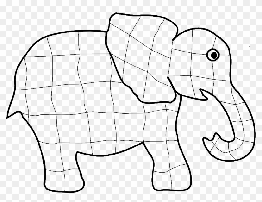 Teaching Ideas And Resources - Elmer The Elephant Coloring Page #615027