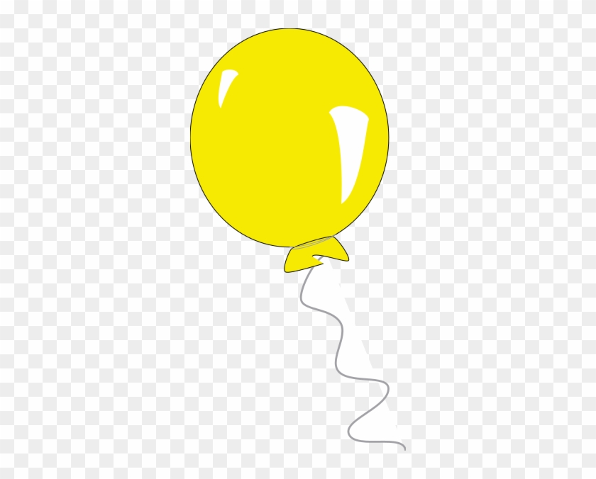 Yellow Balloon Clipart Free Clipart Images - Yellow Balloon Transparent Background #615203
