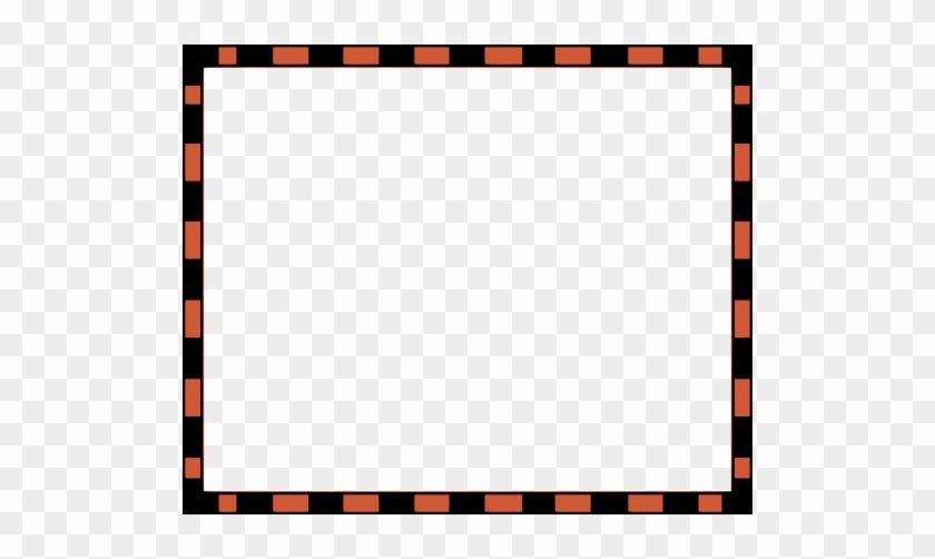 Worldlabel Com Border Orange Black
