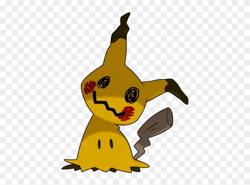 What If Mimikyus Shiny Form Has The Coloration Of