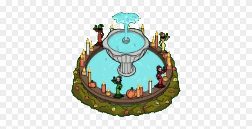 Lucky Almeja Fountain - Clam #616012