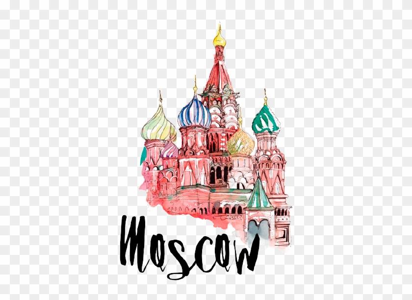 Moscow, Russia - Russia Tourist Spots Clip Art #616019