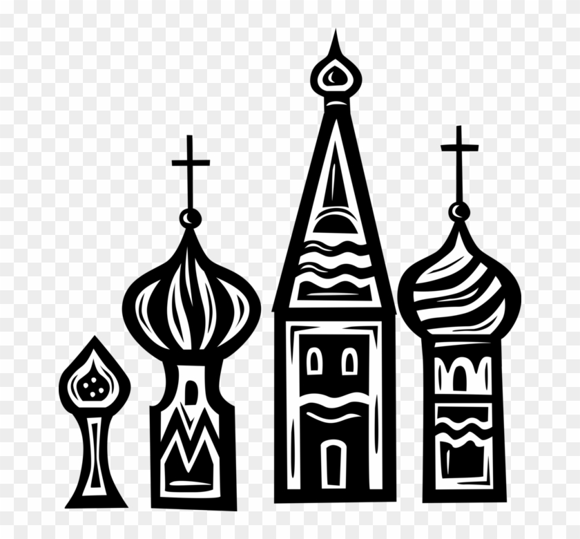 Vector Illustration Of Russian Eastern Orthodox Christian Russian